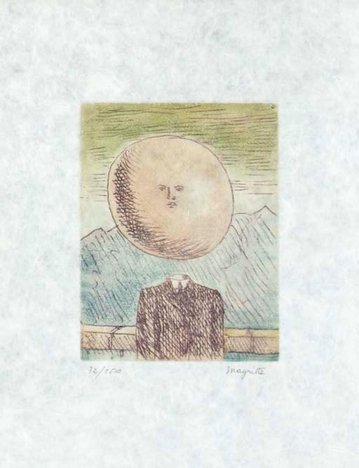 L'art De Vivre by Rene Magritte