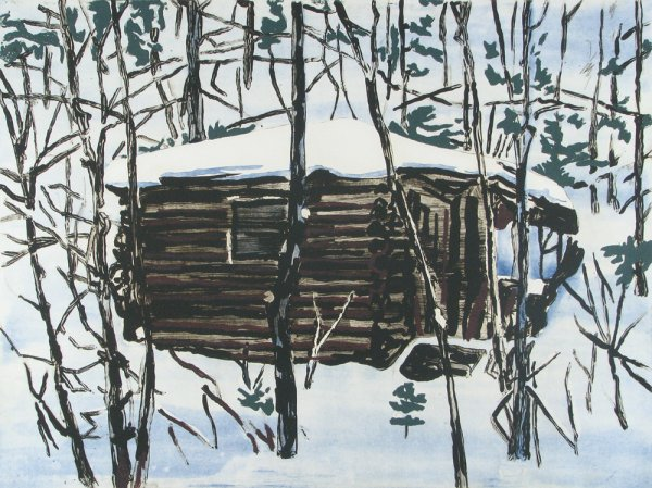 Cabin by Richard Bosman at