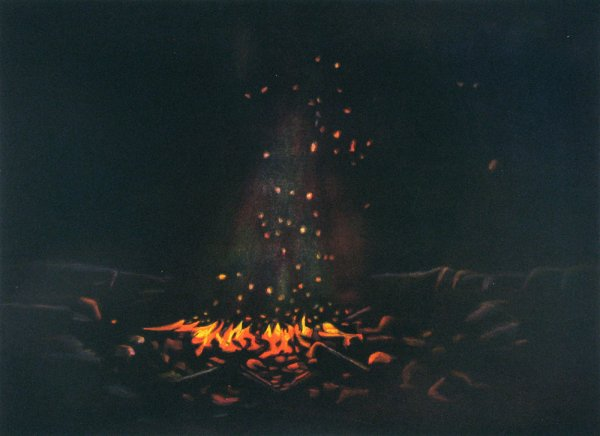 Embers by Richard Bosman at
