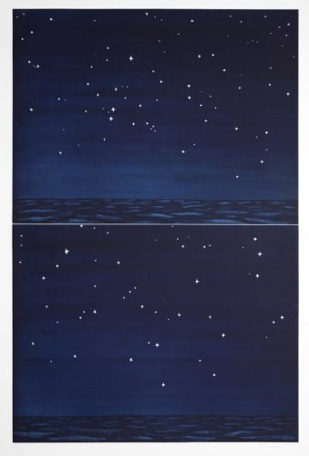Night Sky by Richard Bosman at