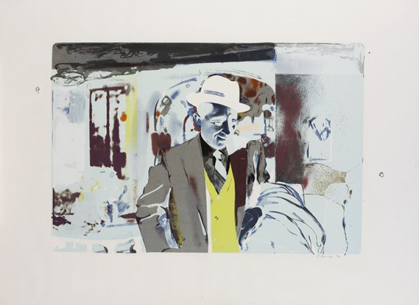 I'm Dreaming Of A White Christmas by Richard Hamilton