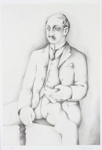 Leopold Bloom by Richard Hamilton