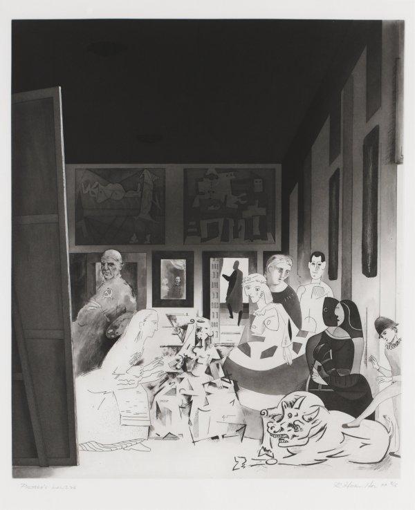 Picasso's Meninas by Richard Hamilton