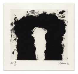 Dealer's Choice by Richard Serra at Krakow Witkin Gallery (IFPDA)