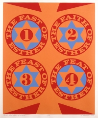 Four Facets Of Esther Ii by Robert Indiana