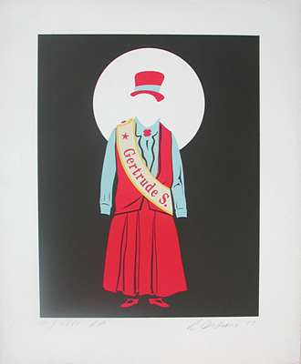 Gertrude S by Robert Indiana at