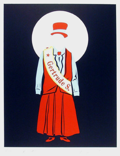 Gertrude Stein by Robert Indiana