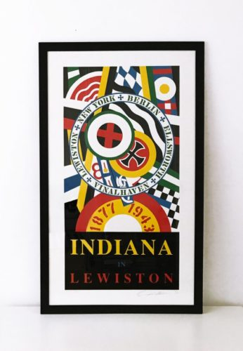 Lewiston by Robert Indiana