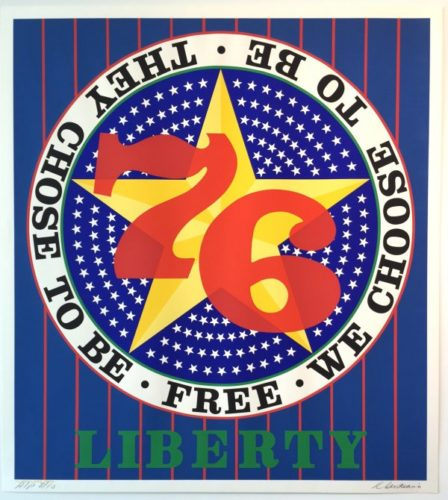 Liberty '76 by Robert Indiana