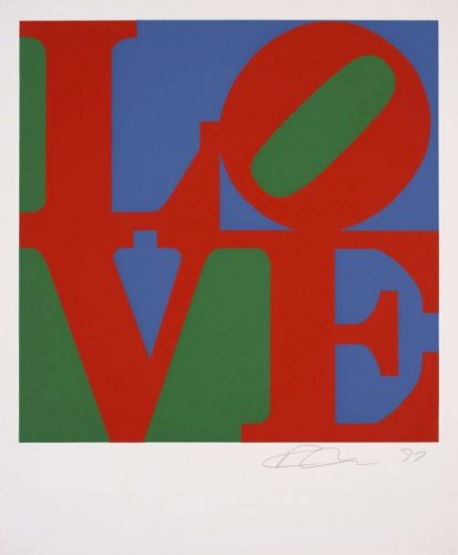Love (classic) by Robert Indiana