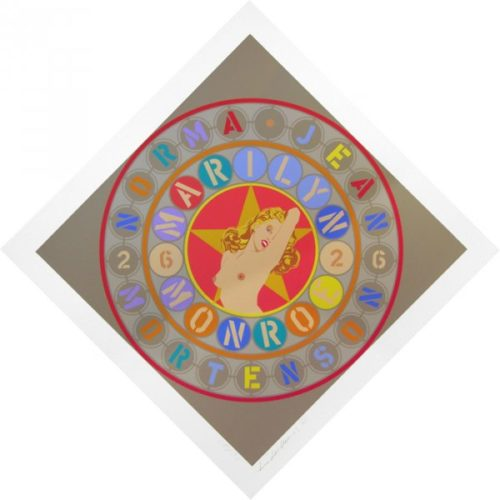 Metamorphosis Of Norman Jean (marilyn Monroe) by Robert Indiana