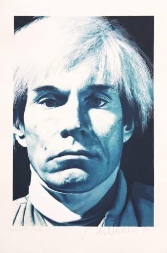 Portrait Of Andy Warhol by Gottfried Helnwein