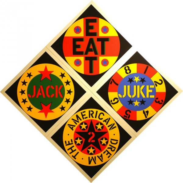 American Dream #2 by Robert Indiana