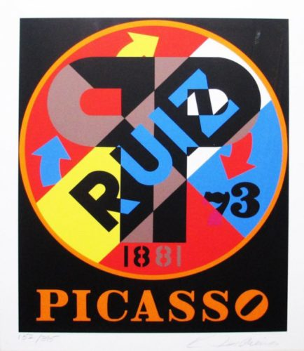 The American Dream (picasso) by Robert Indiana