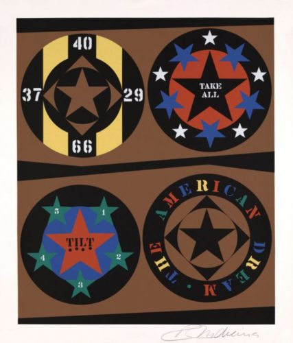 The American Dream: The American Dream by Robert Indiana at Robert Indiana