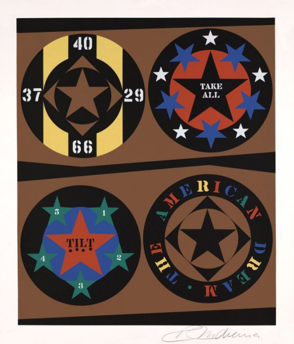 The American Dream: The American Dream by Robert Indiana