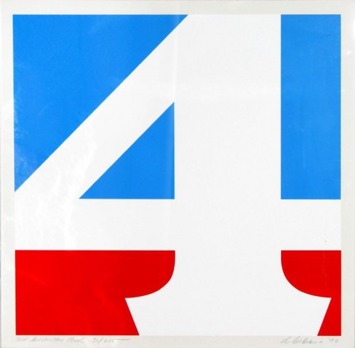 The American Four by Robert Indiana