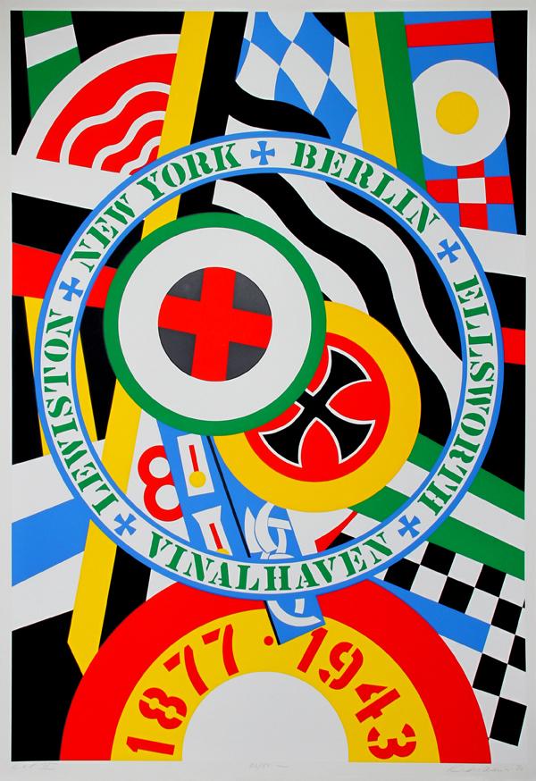 The Hartley Elegies: Berlin Series, Kvf Iv by Robert Indiana