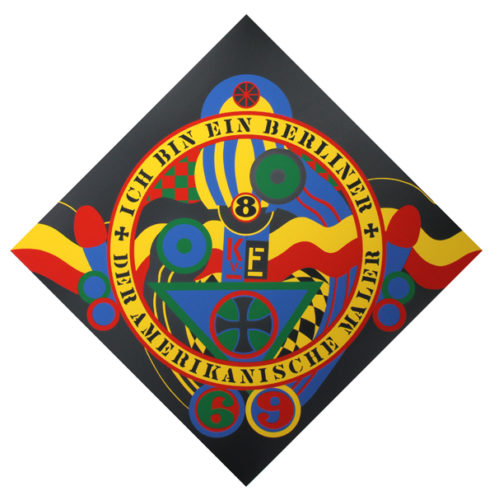 The Hartley Elegies: Berlin Series, Kvf Ix by Robert Indiana