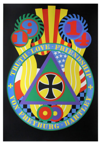 The Hartley Elegies: Berlin Series, Kvf V by Robert Indiana