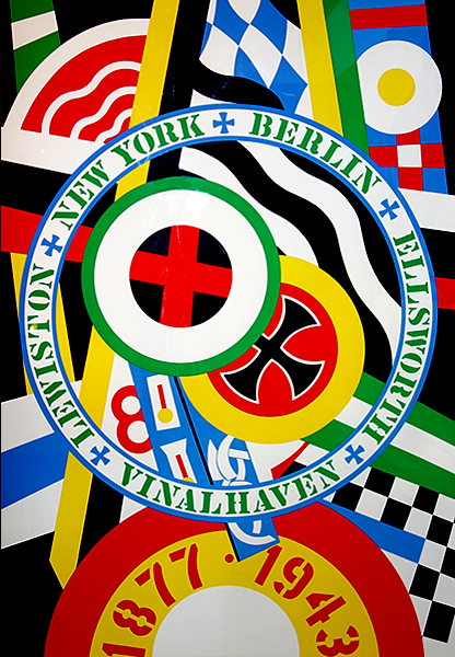 The Hartley Elegies: The Berlin Series- Kvf Iv by Robert Indiana