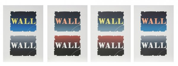 Wall Series: Two Stone by Robert Indiana