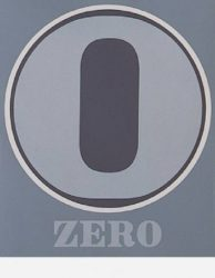 Zero by Robert Indiana at Kunzt