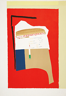 America – La France Variations I by Robert Motherwell