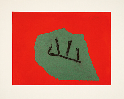 Australian Stone by Robert Motherwell