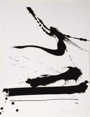 Automatism A by Robert Motherwell