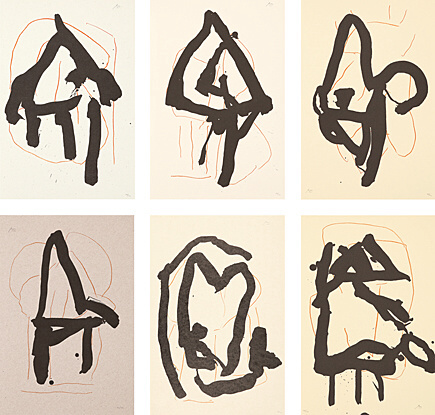 Beau Geste Suite by Robert Motherwell