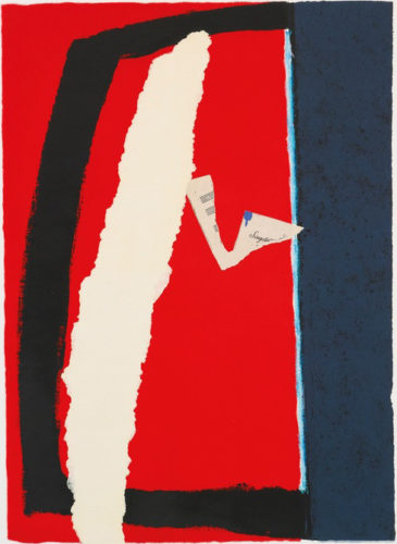 Game Of Chance by Robert Motherwell