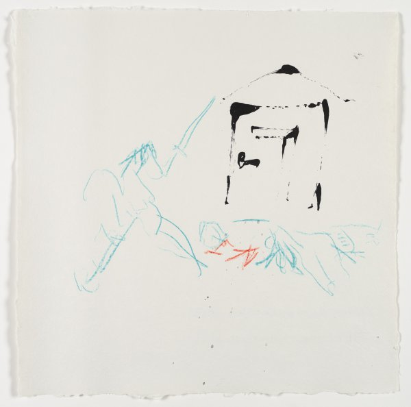 Invisible Stab by Robert Motherwell