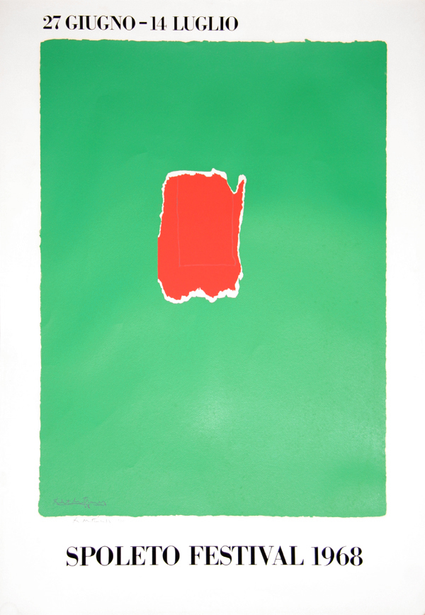 Spoleto Festival by Robert Motherwell