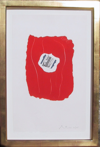 Tricolor 137 by Robert Motherwell