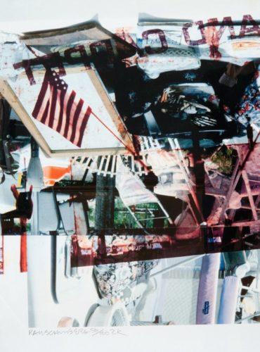 2k by Robert Rauschenberg