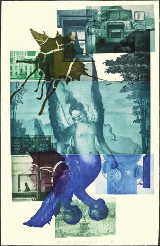 Bellini #1 by Robert Rauschenberg