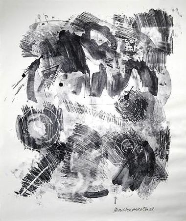 Loop – Stoned Moon by Robert Rauschenberg