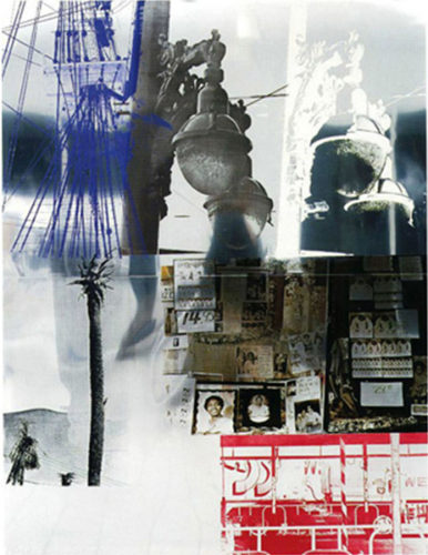 Narcissus, From Roci Usa (wax Fire Works) by Robert Rauschenberg at