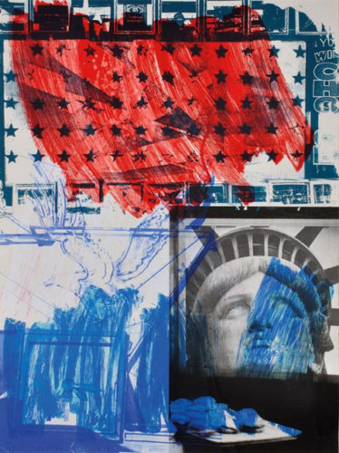 People For The American Way by Robert Rauschenberg at