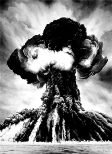 Russian Bomb / Semipalatinsk by Robert Longo at