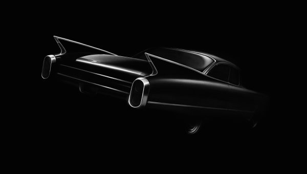 Untitled (cadillac) by Robert Longo at Robert Longo