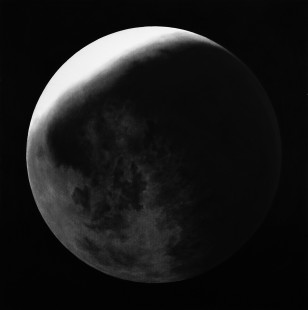 Untitled (moons In Shadow) by Robert Longo at