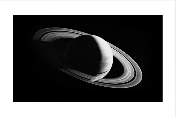 Untitled (saturn) by Robert Longo