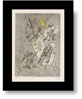 Droites Liberees Ii by Roberto Matta at