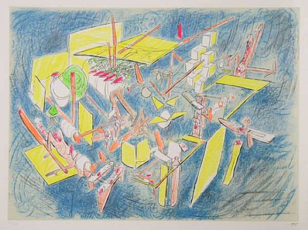 Octravi by Roberto Matta at
