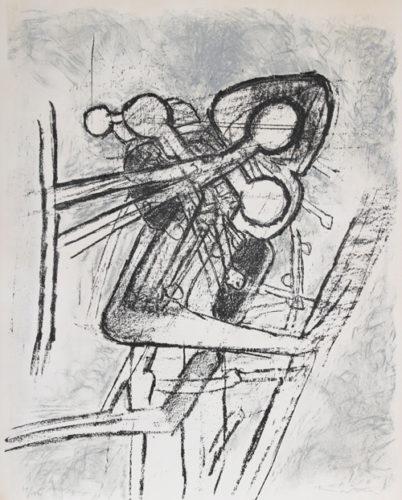Onze Formes Du Doute by Roberto Matta at