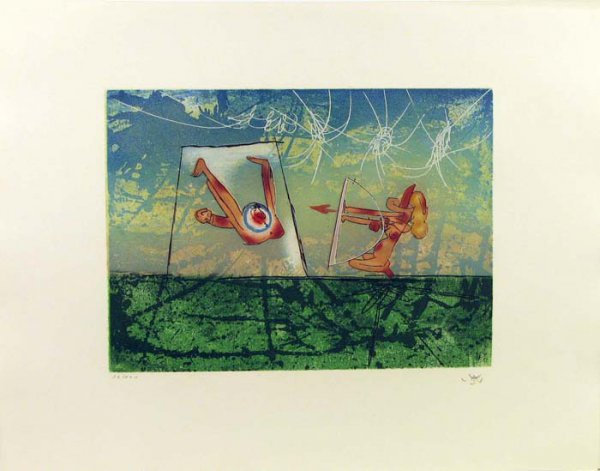 Transports Series, Archer by Roberto Matta at