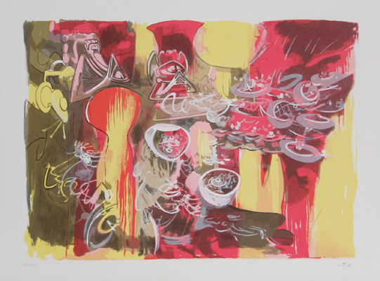 From Hom'mere V – Nous by Roberto Matta at Roberto Matta