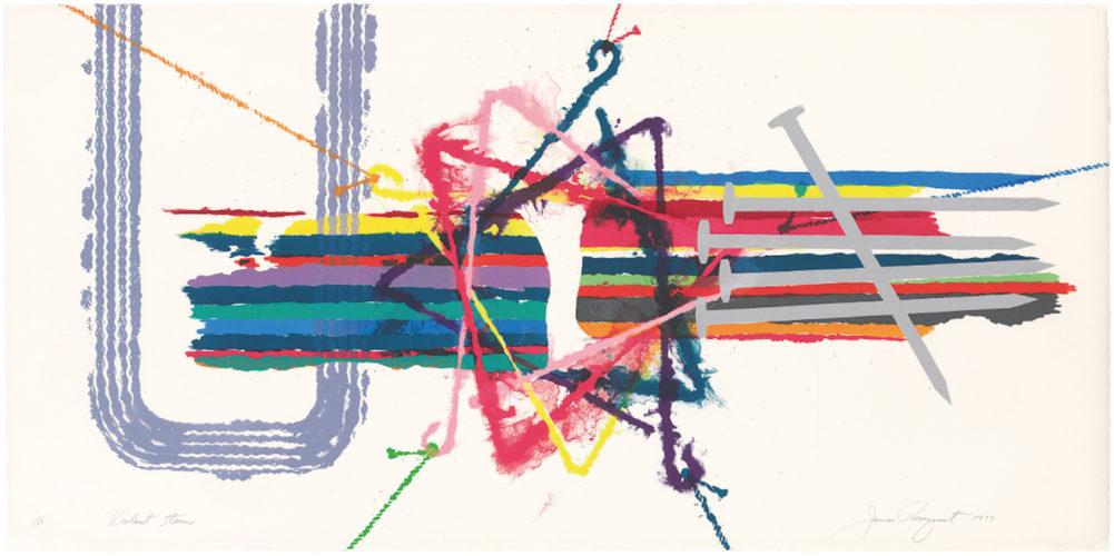 Violent Turn by James Rosenquist